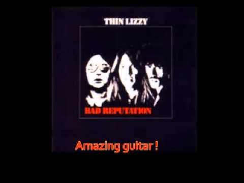 Thin Lizzy - Downtown Sundown with lyrics