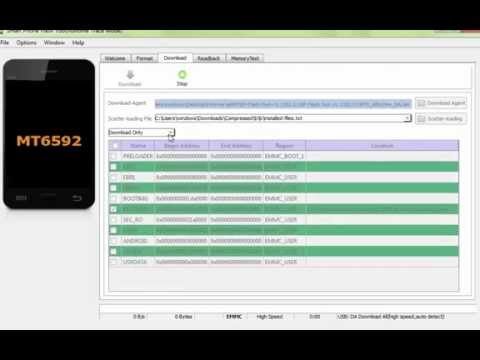 Sp Flash Tool - CWM recover ( Lenovo a806)