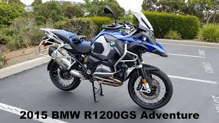 2015 BMW R1200GS Adventure Overview - My Thoughts