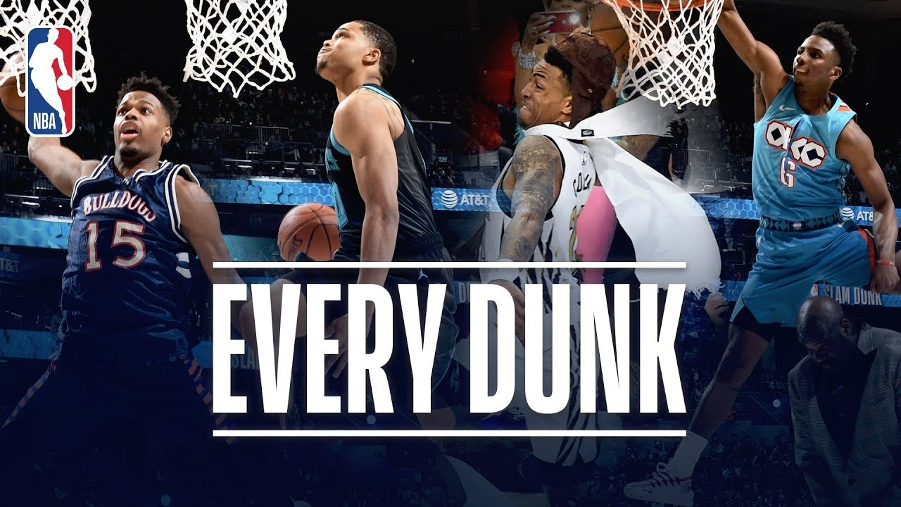 58e849b0daf6 EVERY DUNK From the 2019 NBA Dunk Contest!