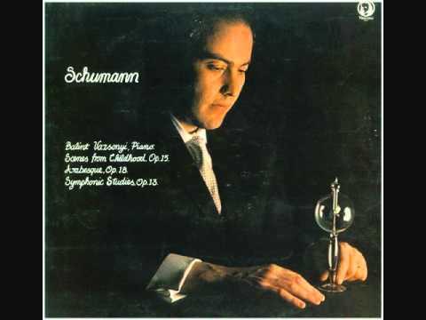 Schumann -- Scenes from Childhood -- Balint Vazsonyi -- 1969