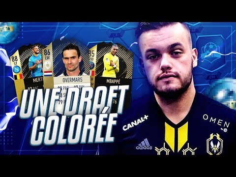 FIFA 18 - UNE DRAFT COLOREE