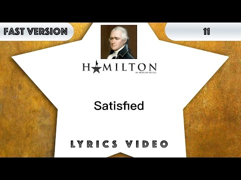 11 episode: Hamilton - Satisfied [Music Lyrics] - 3x faster