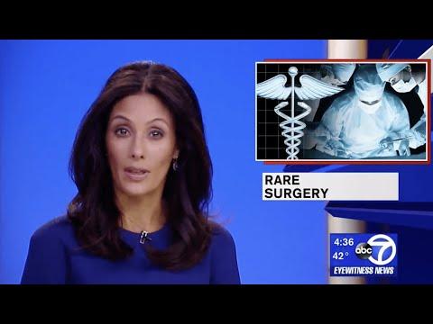 A rare surgical approach by Dr. Tanna addresses unique problem