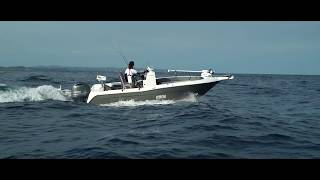 Cruise Craft F360M Centre Console and Bats Fishing - What a combo...