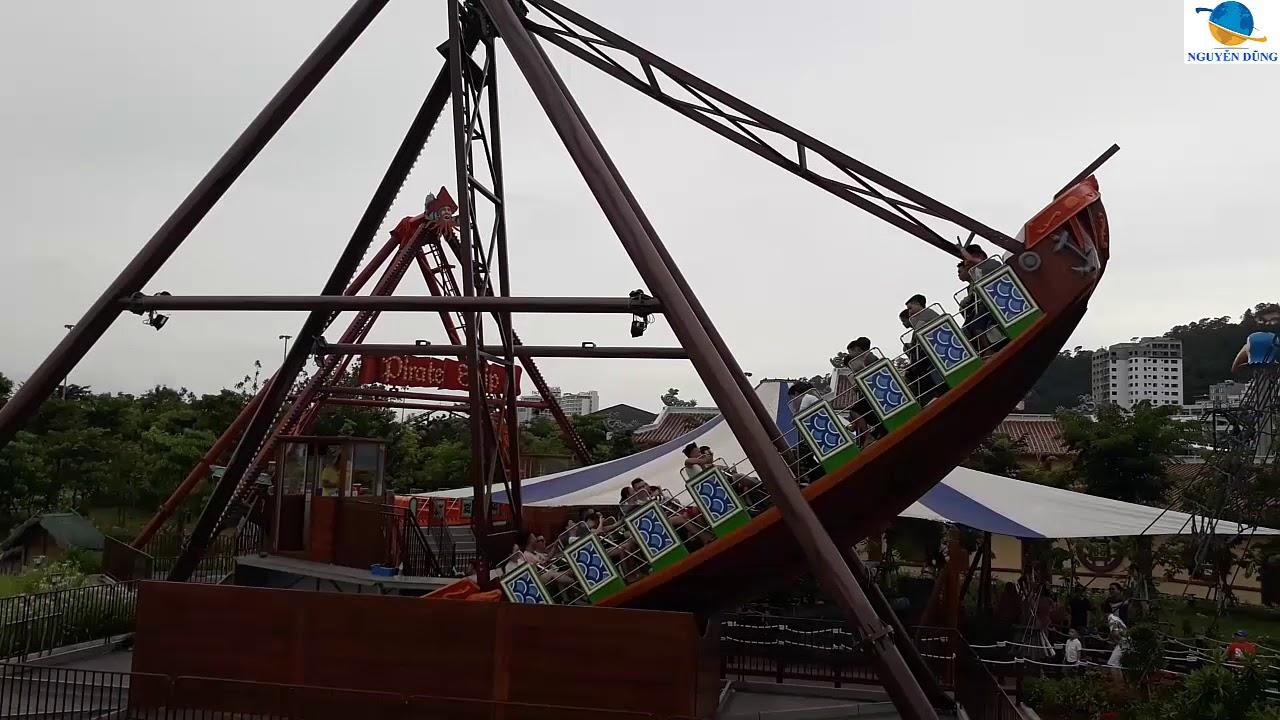 Tàu hải tặc-Trò chơi ''thốn đí…'' nhất công viên RỒNG-HA LONG-Nguyễn Dũng