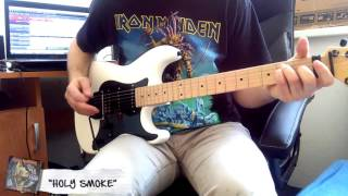 "Iron Maiden - ""Holy Smoke"" cover"