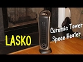 LASKO CERAMIC TOWER SPACE HEATER  (w/Remote Control) Product Review ⭐