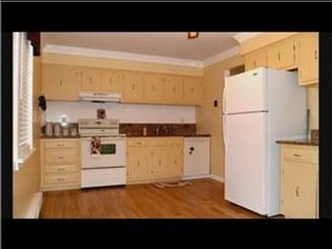 Kitchen Cabinet Remodeling Kitchen Remodel with Laminate Flooring