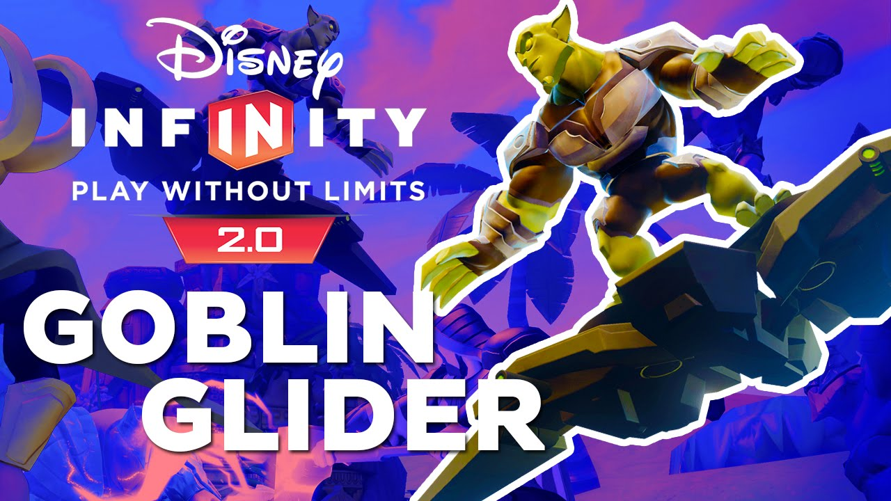 Disney Infinity 2.0 How to get the Green Goblin's Glider - YouTube