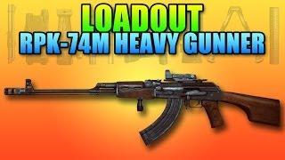 Battlefield 4 Loadout: RPK-74M True Support Playstyle
