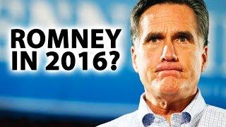 Mitt Romney For President... Again!?