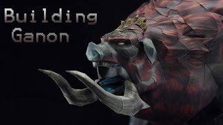 Building Dark Beast Ganon Papercraft
