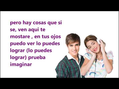 podemos -violetta y leon (video lyric) Videos De Viajes