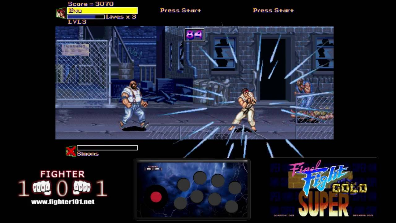 Super Final Fight Gold – OpenBor Review