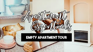 Moving Into My Apartment  |  Affordable Essentials Haul & Empty Apartment Tour