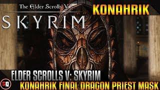 The Elder Scrolls V: Skyrim - Konahrik Final Dragon Priest Mask