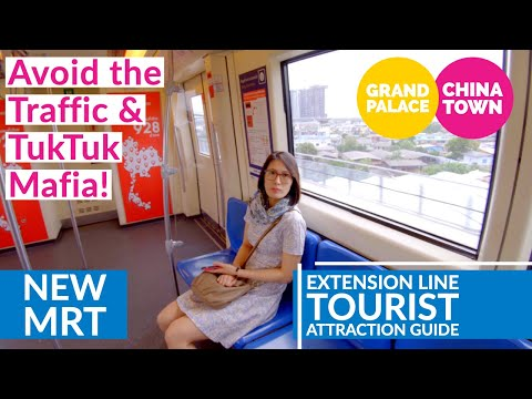 NEW Bangkok MRT Line To China Town Grand Palace