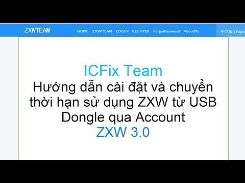 Hướng dẫn chuyển thời hạn sử dụng USB Dongle sang Account ZXW 3.0