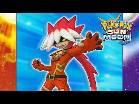 Pokemon Sun and Moon - Battle vs. Ryuki (Title Defense)