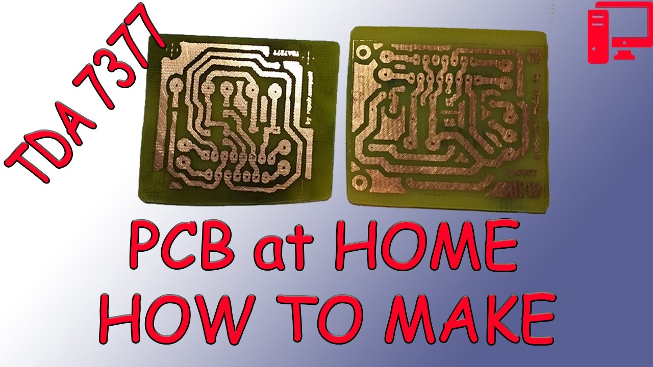 Super Budget Amplifier On Tda7377 Own Hands Part1 How To Make A Manufaturecircuit Board Parts Buy Circuit Partscircuit Pcb At Home