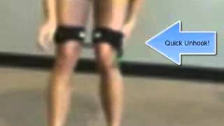 Cheerleading Toe Touch | Cheer Jump Exercises | Kinetic Bands