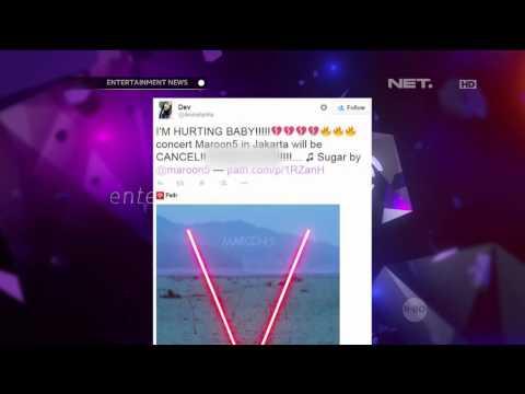 Batalnya Konser Maroon 5 di Jakarta Menjadi Trending Topic