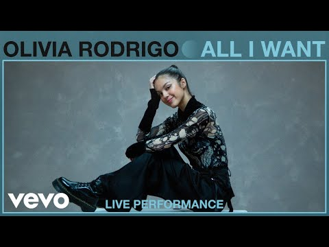 Olivia Rodrigo - All I Want (Live Performance | Vevo)