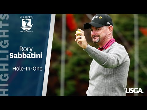 2019 U.S. Open: Rory Sabbatini's Hole-In-One