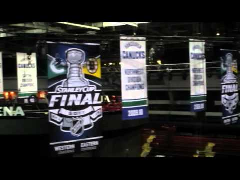 Tour of Rogers Arena