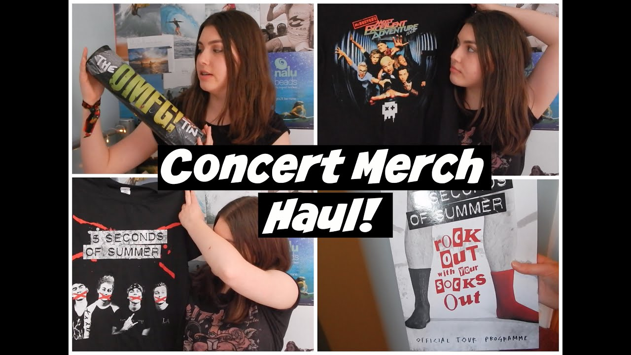 Seconds Of Summer Tour Merch Rowyso