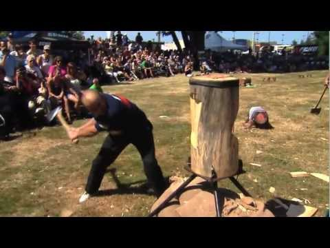 2012 Campbell River Logger Sports Part 3 Section 1