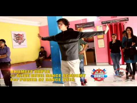Bhumeet Gupta Freestyling at ALIVE DEVIL DANCE ACADEMY...