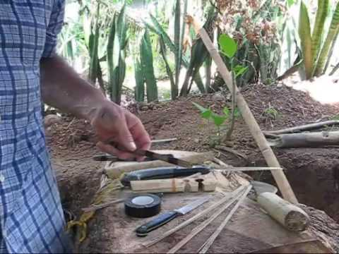 The Kindling Spindle Another Improvised Way To Make A Friction Fire That Could Save Your life