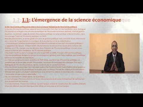 chapitre 1: Qu'est-ce que l'économie politique?