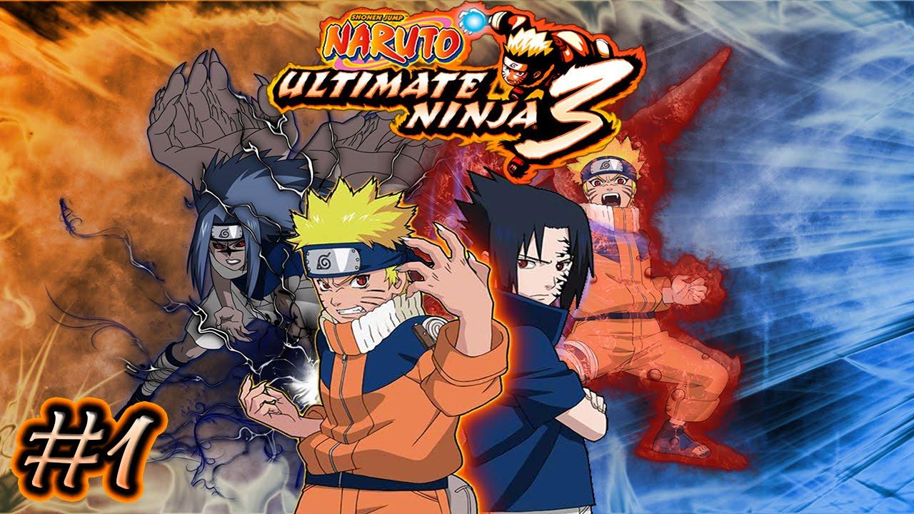 Naruto Ultimate Ninja 3 Detonado Parte 1 Heros