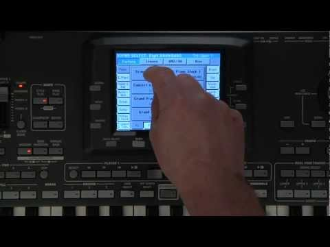 Korg Pa3X Video Manual Part 2- Sounds