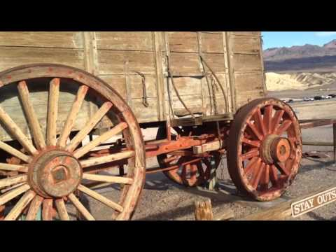 Borax Mining Mule Train Death Valley