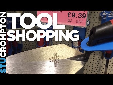 Tool Shopping in manchester with KC