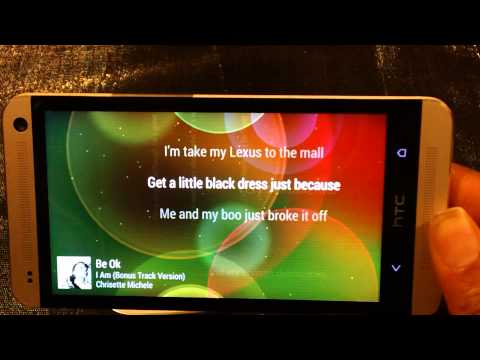 HTC One Music Player  vs Samsung Music Player