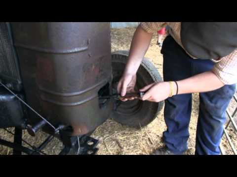 Starting A Vintage Field Marshal Tractor