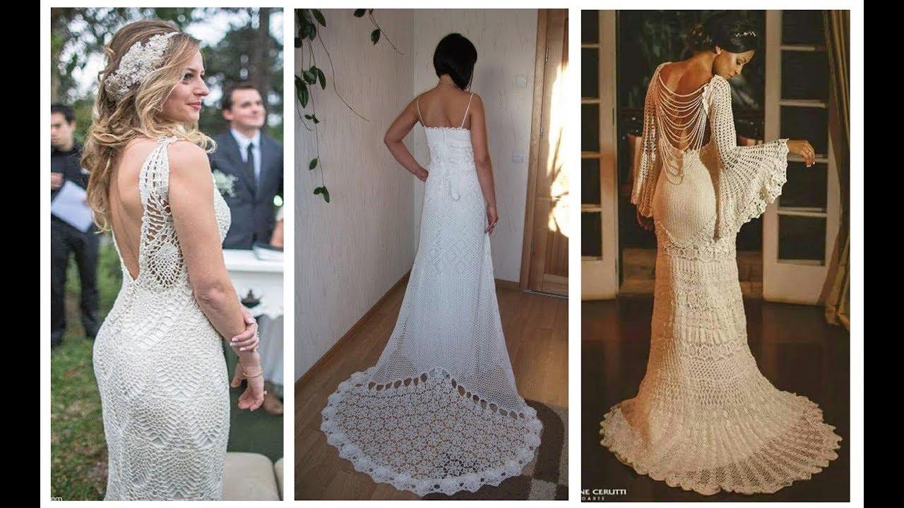 Crochet Wedding Dresses Latest Trends Crochet Crochetpatterns Weddingdresses Crochetw Crochet Wedding Dresses Crochet Wedding Formal Dresses For Weddings