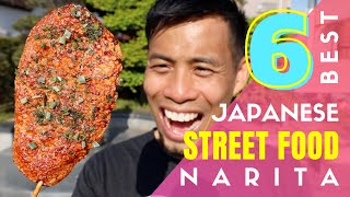 Japanese Street Food Tour by Narita Airport