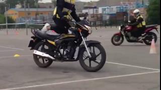 Motosiklet eğitimi 1.ders görüntüleri (4.bölüm)
