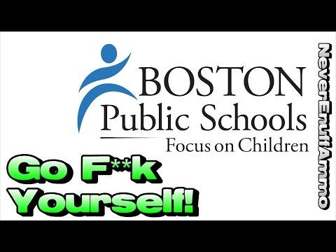 Boston School District ..... Go F**k Yourself!