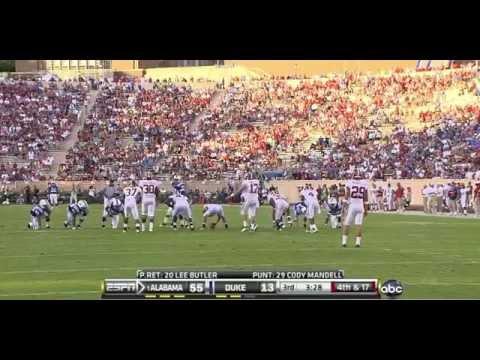 Download 2010 #1 Alabama vs. Duke (HQ)