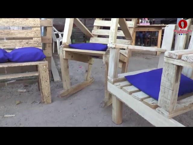 Entrevista a Rigoberto Espinosa -  Matias Espinosa  Emprendedor muebles rusticos