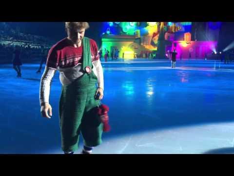 Ледовое шоу Малыш и Карлсон 10.01.2016 15