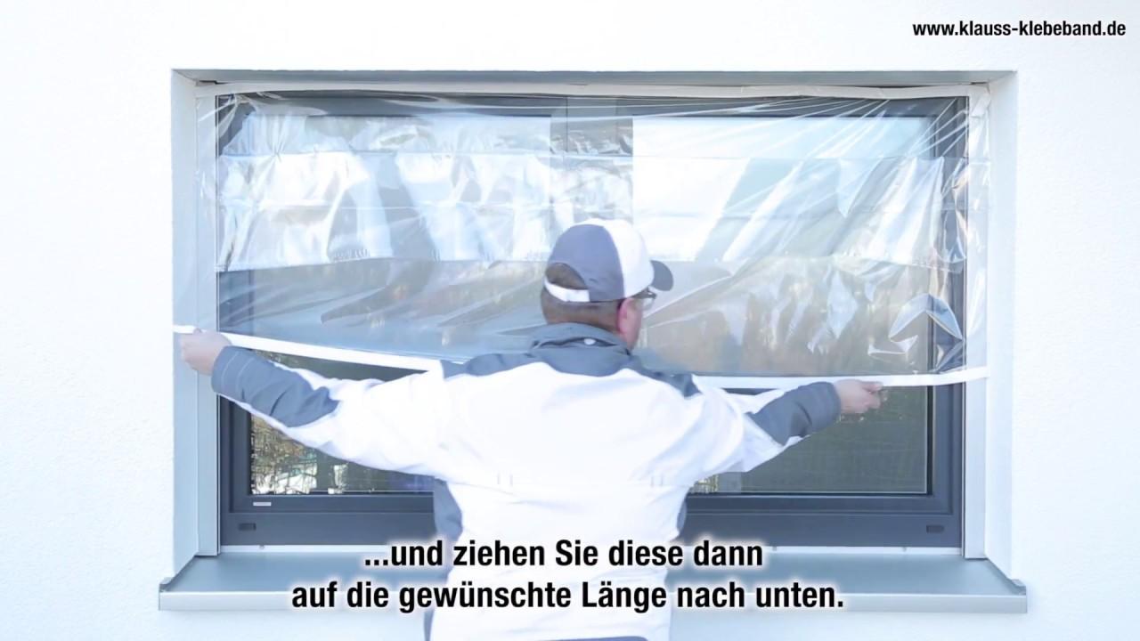 Fabulous Abdeckfolie, Malerplane Zitra ®-Fol: Fenster abdecken und  DB71