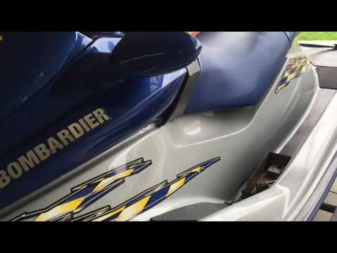 2002 seadoo rxdi fuel filter mod - YouTube